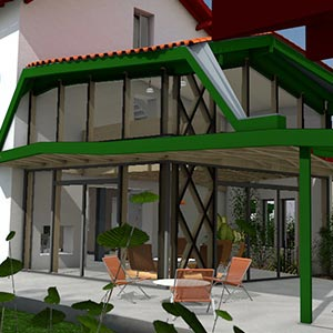 Architecteture basque Cambo-les-bains
