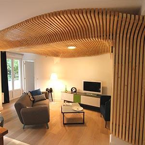 Contemporain intérieur architecte